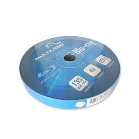 Mídia Blu-ray Multilaser 25gb Pack C/ 10 Unidades Dv057