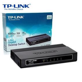 Switch 5 Bocas Tp-link Tl-sg1005d Gigabit 10/100/1000