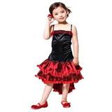 Fantasia Infantil Feminina Dançarina Can-can L 1,20 A 1,30