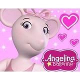 Kit Imprimible Candy Bar Angelina Ballerina Cumples Y Mas