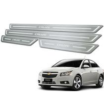 Kit Soleiras De Portas Modelo Standard Para Chevrolet Cruze