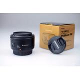 Lente Yongnuo 35mm F2 Nikon Yn35mm N