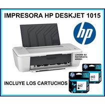 Impresora Inyeccion De Tinta Hp Deskjet 1015 Usb 15ppm Nueva