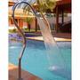 Cascata piscinas Em Aço Inox Polido Brilho Tubular Splash