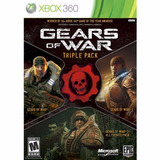 Gears Of War Triple Pack Xbox 360 Nuevo Sellado