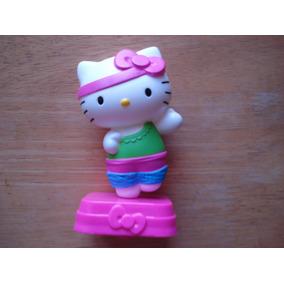 Figura Hello Kitty Se Mueve Cuando Camina Mide 12 Cms