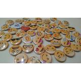 Emojis Pines 25mm Souvenir Emojis Día Del Niño