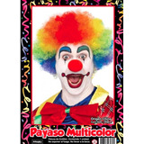 Peluca Payaso Multicolor - Fiesta & Eventos La Golosineria