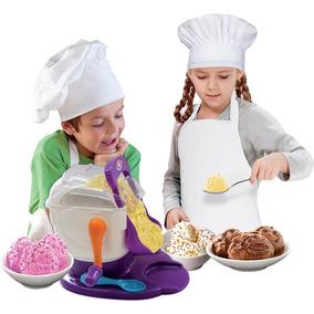 Fabrica De Sorvete Kids Chef Multikids Faz De Verdade