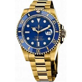Relogio Sub-mariner Azul Ouro Azul Automatico Rc62544