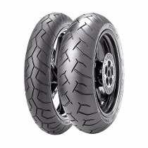 Jogo Pneu Moto 120/70/17+180/55/17 Pirelli Diablo Xj6/hornet