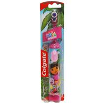 Escova De Dentes Elétrica Infantil Colgate Dora C/ Macaco