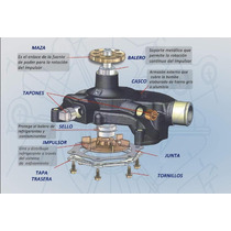 Bomba Agua Honda Accord 3l 98-03 Odissey Pilot 01-05 P2455