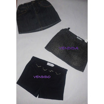 Falda Jean Epk Usadas, Como Nueva !!!