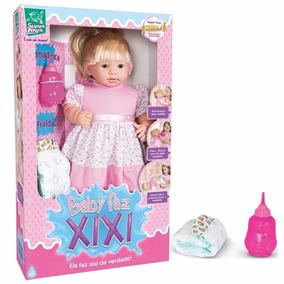 Boneca Mini Baby Faz Xixi 217 - Super Toys