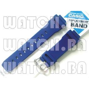 Pulseira E Bezel G-shock Dw-9052 - Azul - Nova, Original!