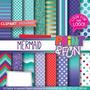 Kit Imprimible Pack Fondos Princesa Sirenita Ariel Clipart