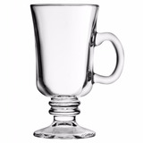 Taças De Vidro Xicara Para Café Capuccino 240 Ml - Kit 6 Pçs
