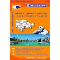 Suiza Suroeste Mapa Regional 552 2013; Varios A Envío Gratis