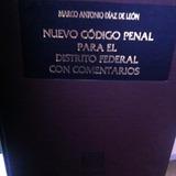 Nuevo Codigo Penal Para El Distrito Federal 2 Tomos