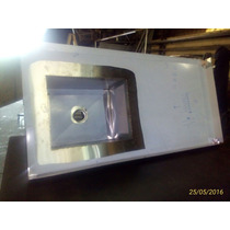 Pia Em Aço Inox Cuba Esquerda 1,8 X 60 C/cuba 12 V S/juros