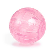 Globo Rosa Hamster Ball 14.5cm Rodinha Russo Chinês Oferta