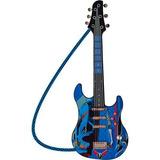 Guitarra Infantil Luxo Hot Wheels Start