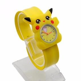 Reloj Pikachu Envio Gratis Pokemon Niños Ajustable Colores