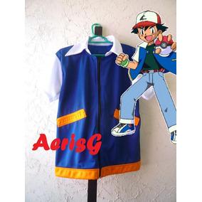 Arg Pokemon Go Estupendo Dizfraz Ash Ketchum Nintendo Anime