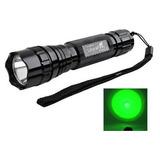 Linterna Tactica Ultrafire 501b - Luz Verde - Ideal Caza