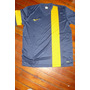 Inreible Remera Nike Dri Fit Azul Amarilla Unica !! Talle Xl