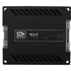 Amplificador Modulo Banda 12.4d 1200wrms 4ch Digital + Frete