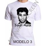 Camiseta Cantor Zayn Malik , 1d