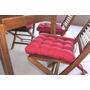 Jogo Acento Futton P/cadeira 40cm X 40cm (kit C/6 Peças)