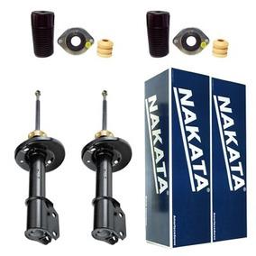2 Amortecedores Nakata + Kit Gm Corsa Classic 2003/2012