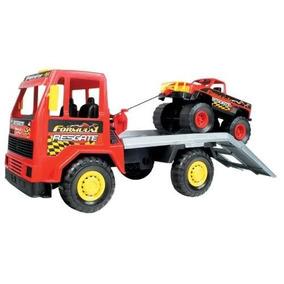 Caminhão Equipe Formula 1 - Magic Toys Frete Grátis
