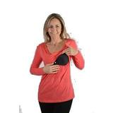 Remera Embarazo Amamantar Lactancia Cómoda Discreta Maminia