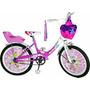 Bicicleta De Nena R16 Carolina Full Necchi. La Mas Linda