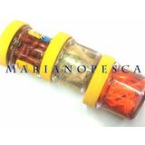 Carnada Artificial Silicona Berkley Gulp Gusano Rojo X 55u.