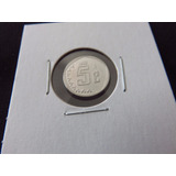 Moneda 5 Centavos 2002 Bu Nueva La Mas Cotizada