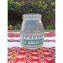 Antiguo Frasco Botella De Yoghurt La Angélica (no Leche)