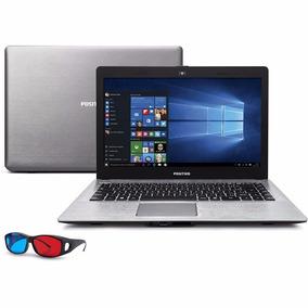 Notebook Positivo Stilo Xr5500 Quad Core N3540 2gb Hd 32 Ssd