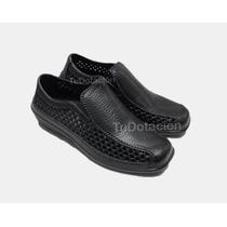 Zapatos De Eva Mocazine Negro Enfermero Cocina Chef Talla 45