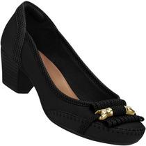 Sapato Scarpin Firezzi Conforto Camurça Feminino
