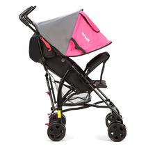 Carrinho Bebê Passeio Menina Rosa Umbrella Spin Infanti