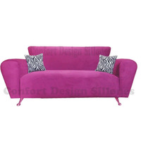 Sillon Sofa 2c Moderno Tela, Chenille, Pana O Talampaya