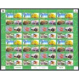 Estampillas Serie 64 Valores Biodiversidad Venezolana 2016