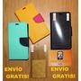 Estuche Tipo Agenda Samsung S5 + Lámina Envío Gratis! Mvzla