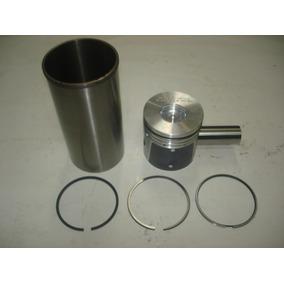 4 - Kit Motor Maxion Hs 2.5 S10 ( Pistão, Camisas, Anéis )