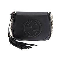 Bolsa Gucci Soho Leather Chain Crossbody Bag Original